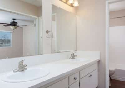 Bathroom with big vanity